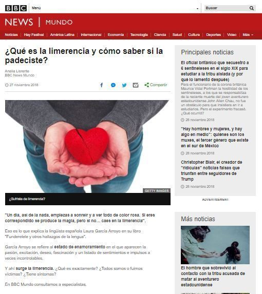 bbc limerencia